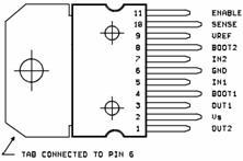 TDA2005 является...  6Ω).  Кроме того, схема предлагает громкоговоритель защита при коротком замыкании одного провода...